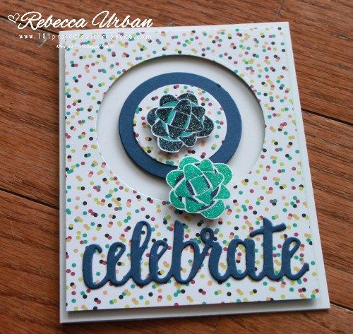 Global Stamping Friends A Sale A Bration Celebration Spinner Card