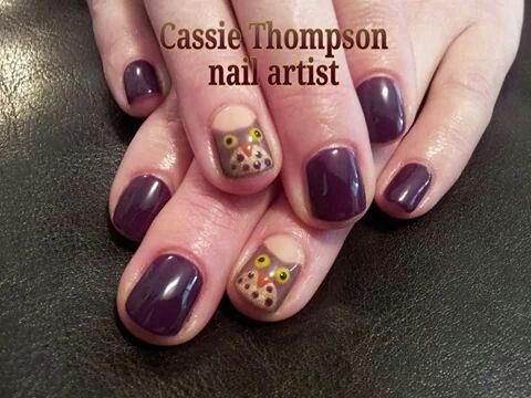 Cute owls hand painted nail art by cassie thompson nail artist of cute owls hand painted nail art by cassie thompson nail artist of vancouver wa follow me prinsesfo Image collections