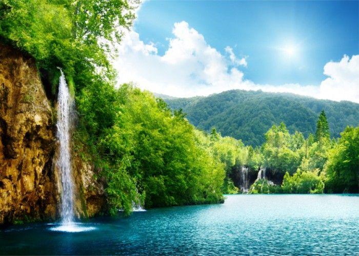 100 Wallpaper Designs For Bedroom Waterfall Wallpaper Scenery Wallpaper Nature Wallpaper