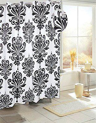 Royal Bath Easy On Peva Shower Curtain W Built In Hooks Beacon