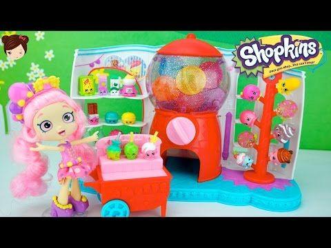 5047fed91db5 Juguetes Shopkins Temporada 4 Sweet Spot Set Máquina de Chicles con ...