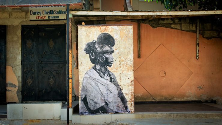 French Street Artist Pays Tribute To The Fierce Female ...