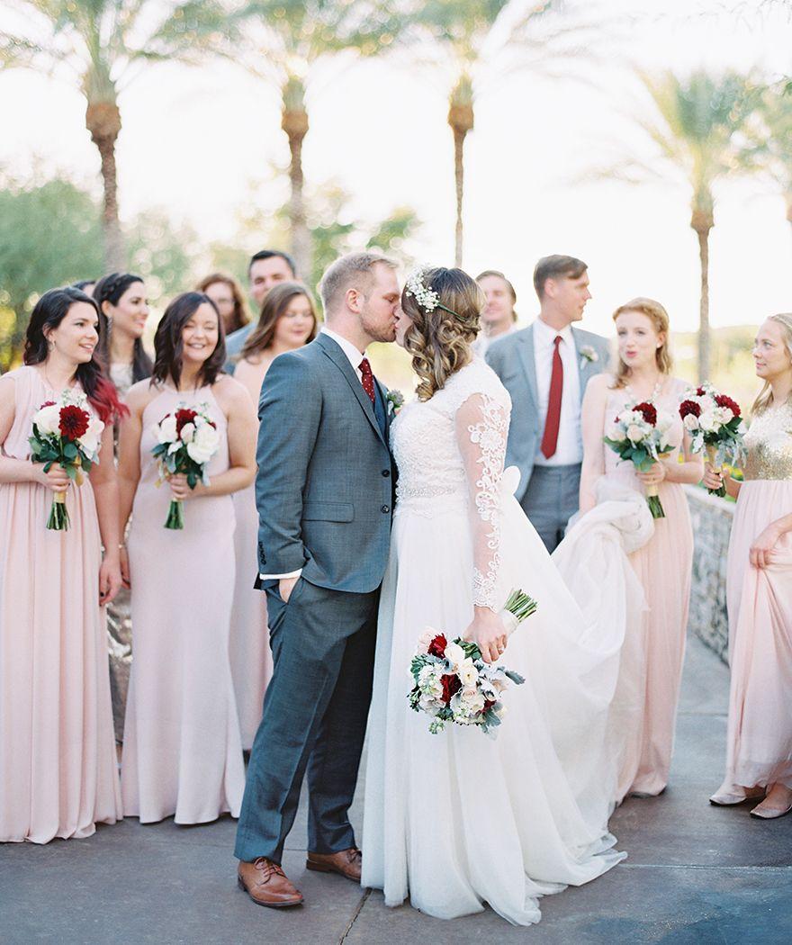 b01a6719fe Blush Wedding Dress Burgundy - Data Dynamic AG