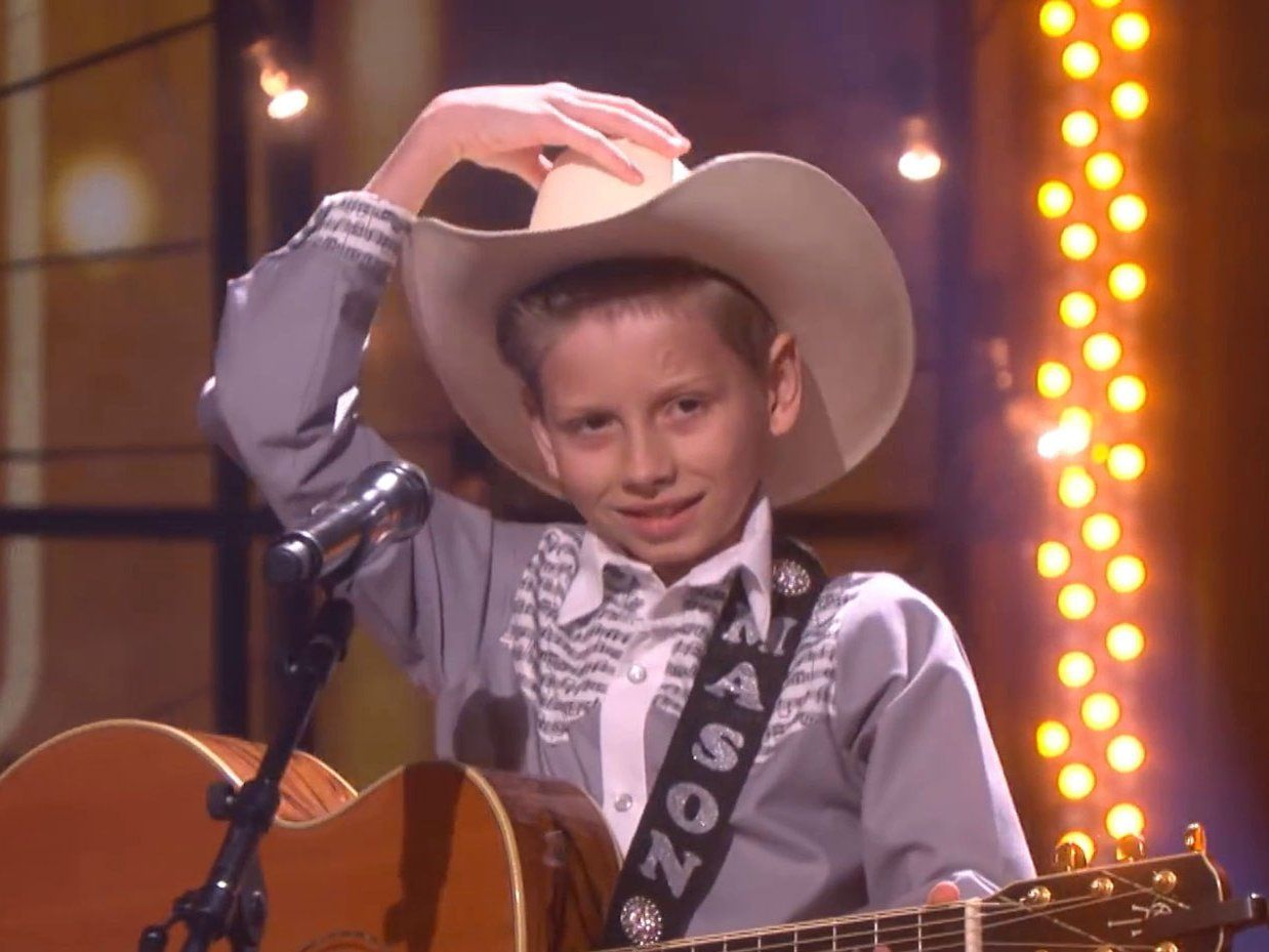 099c07e728 Yodel kid Mason Ramsey explains why he always sings at Walmart: 'That's the  only store we've got'