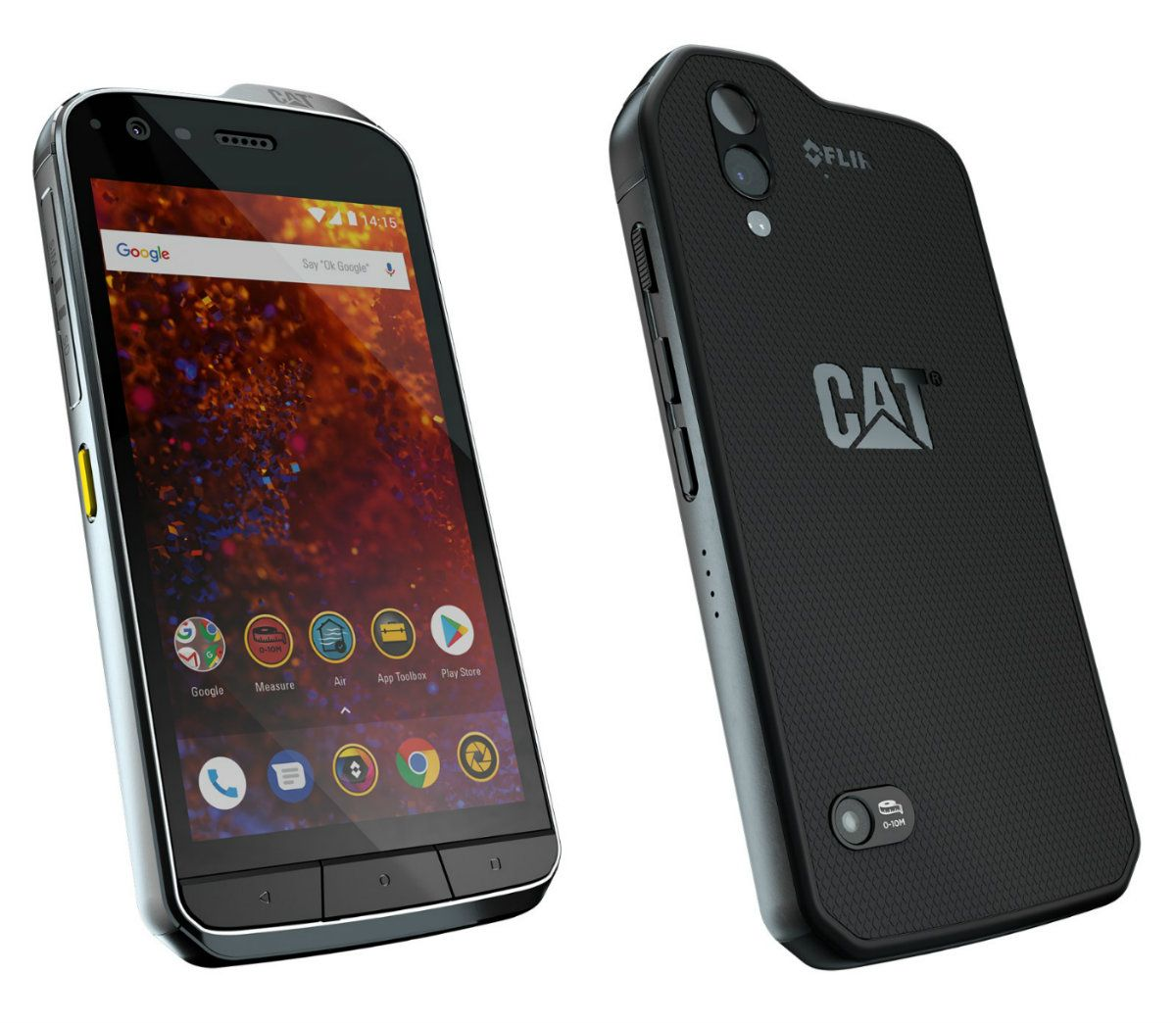 Cat S61 Announced With FLIR Thermal Camera, Snapdragon 630