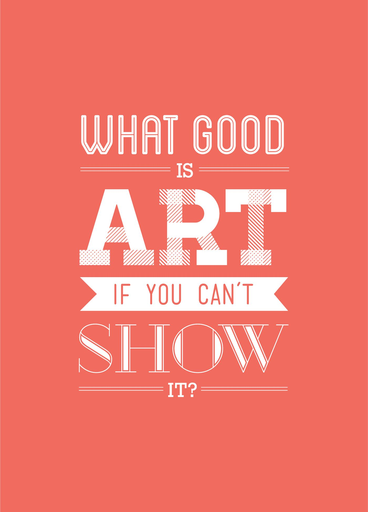 poster_art.jpg (1400×1950) Typography quotes, Poster