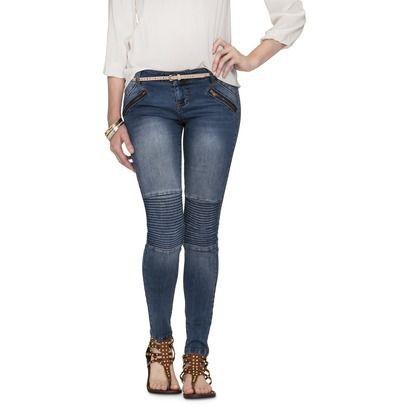 Mid-Rise Denim Legging (Slim Fit)