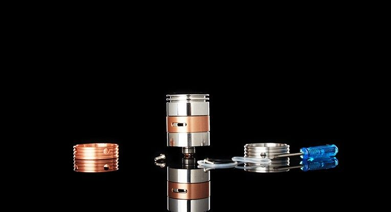 CEO FOG Style Rebuildable Dripping Atomizer RDA Copper 1:1