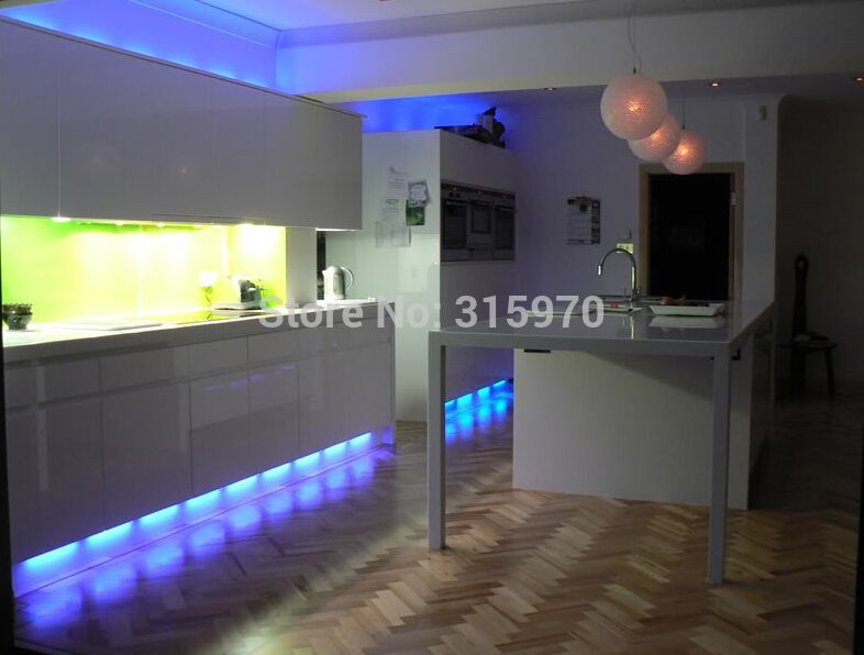 colorful round led kitchen light 12vdc 9leds 5050smd super slim and