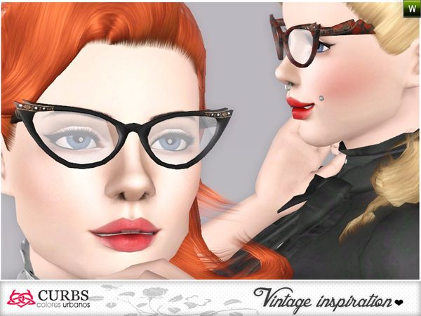 Colores Urbanos' Curbs Cat Eye Glasses 01