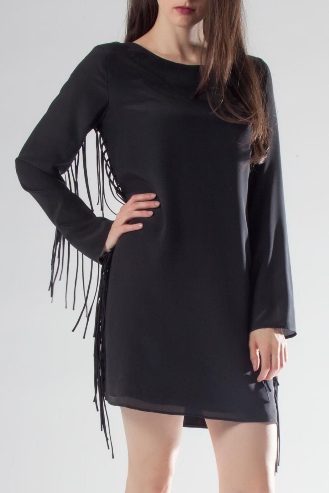 Black Silk Fringe Dress Fringe Dress Black Fringe Dress Dresses [ 1575 x 1050 Pixel ]