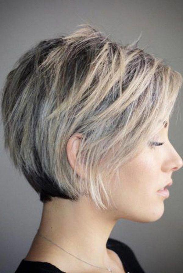 Trending Hairstyles 2019 Short Layered Hairstyles Evesteps Bobpixie Shorthairstylesforthickhai In 2020 Short Hair With Layers Short Hair Styles Trending Haircuts