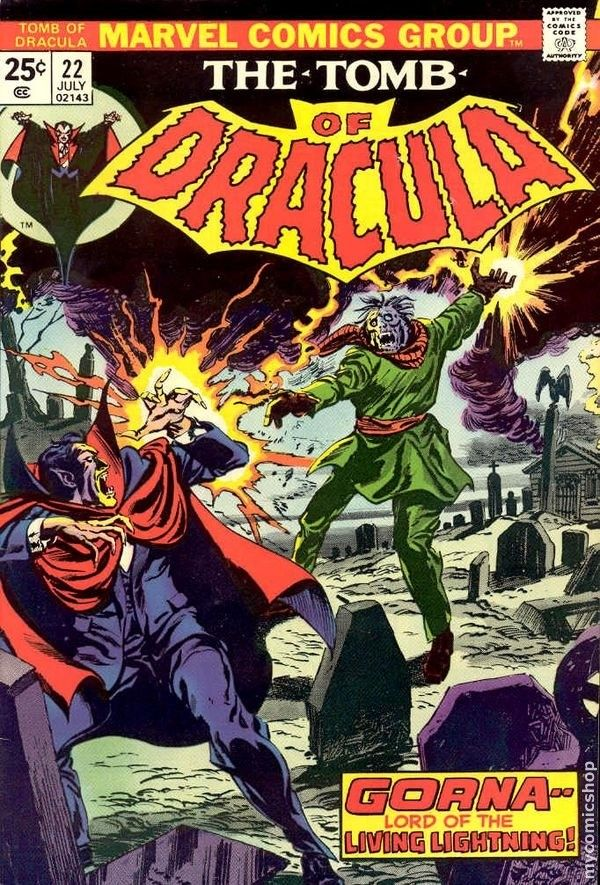 The Tomb of Dracula #22  Marvel Comics Group  July 1974  $.25
