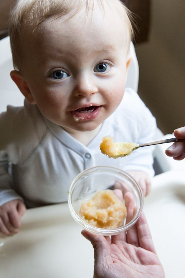 How to make apple sauce for baby