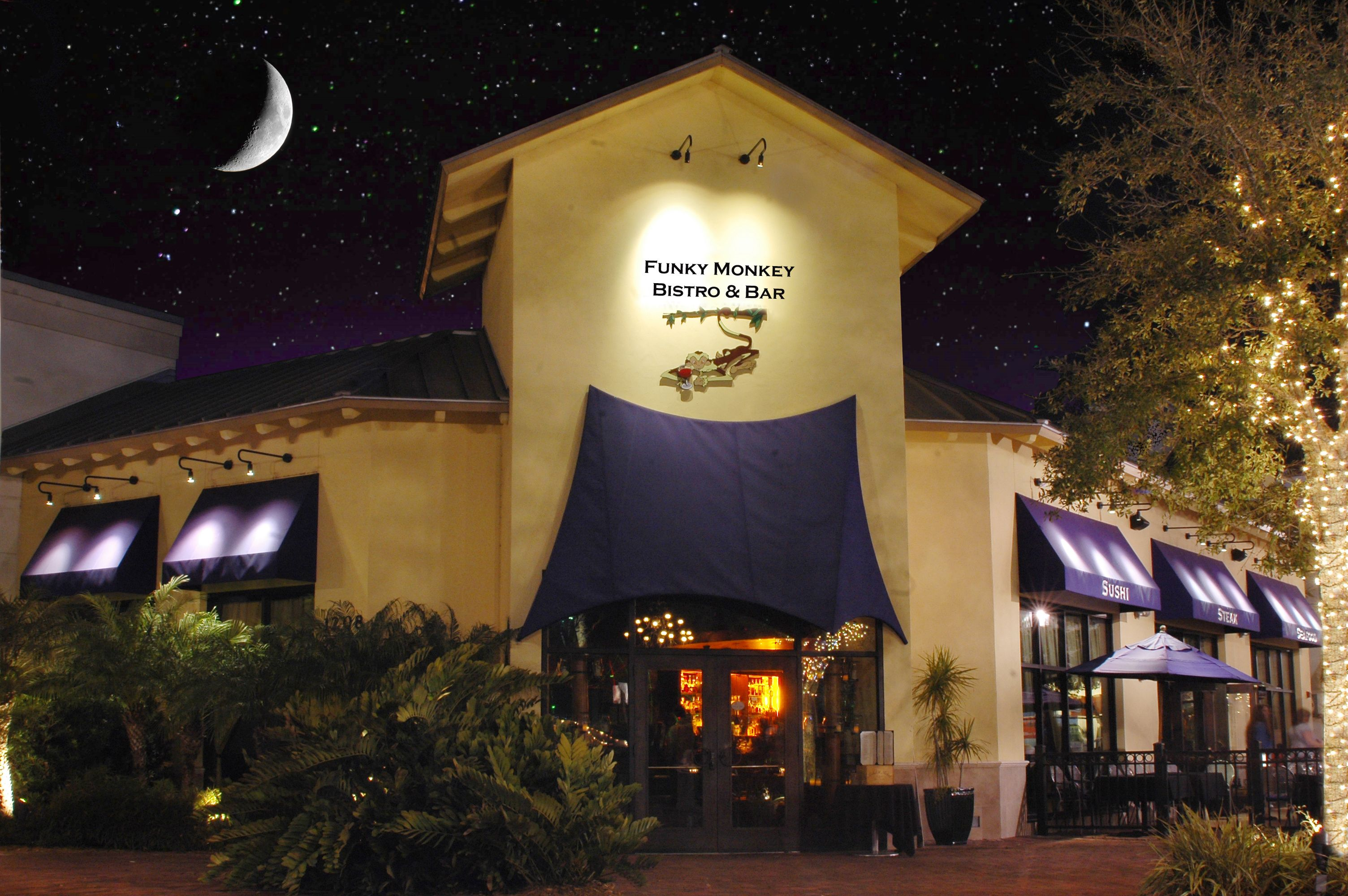 Funky Monkey Bistro Bar At Pointe Orlando On I Drive Funky