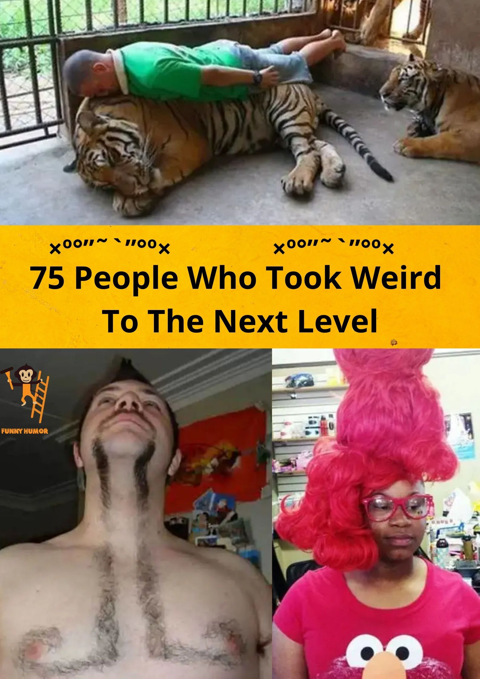 "75 people who take ""weird"" to another level in 2020"