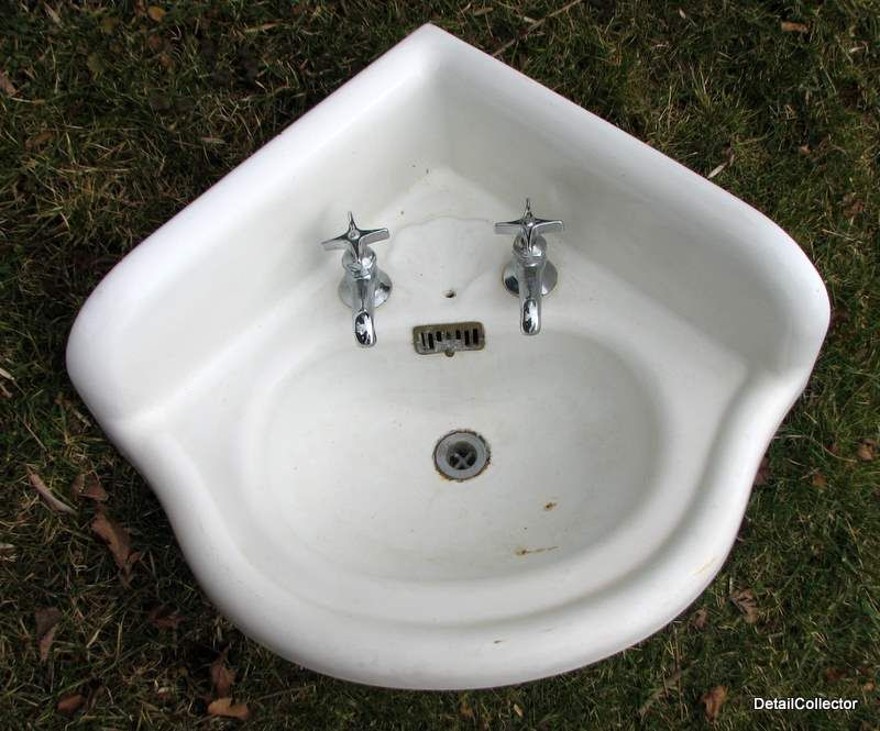 Corner Bathroom Sinks Antique Corner Sink Bathroom Victorian Old