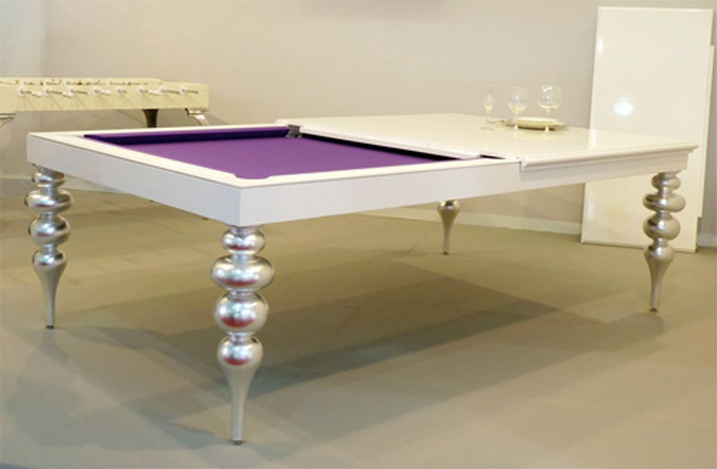 A Girly Compromise On Having A Pool Table Integrated Into The