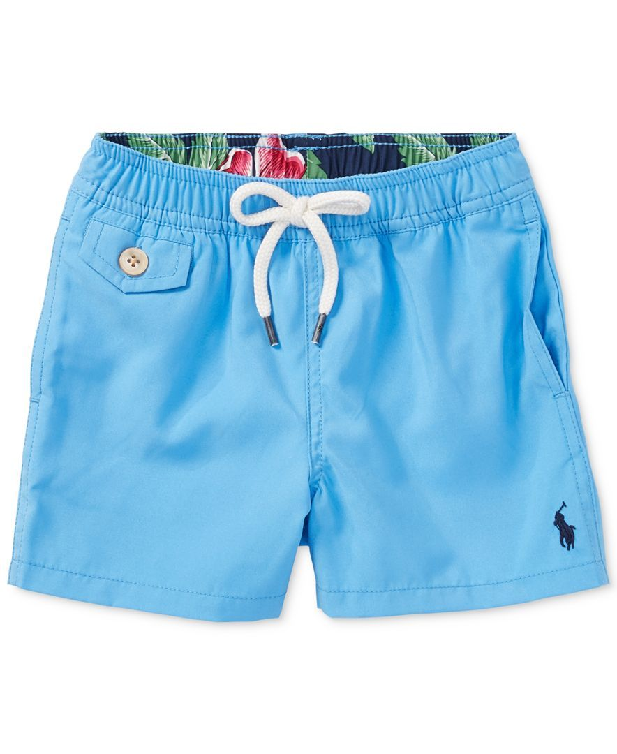 df2a3832c9948 Ralph Lauren Traveler Twill Swim Trunks, Baby Boys (0-24 months ...