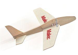 Rocket Glider Kit-Not your average balsa wood airplane  This