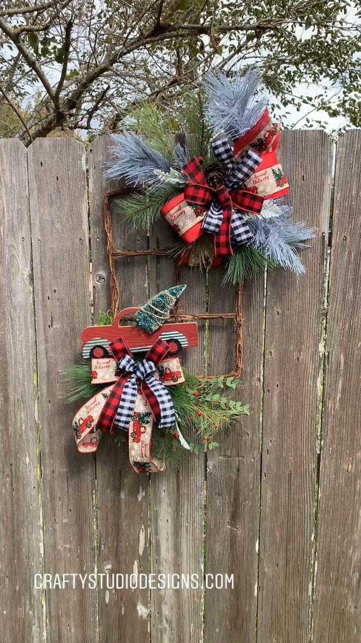 Photo of Christmas decoration, Christmas wreath, Merry Christmas wreath, Christmas evergreen
