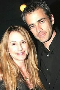 Holly hunter with her husband Gordon MacDonald