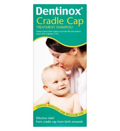 Dentinox Cradle Cap Treatment Shampoo 125ml Newborn