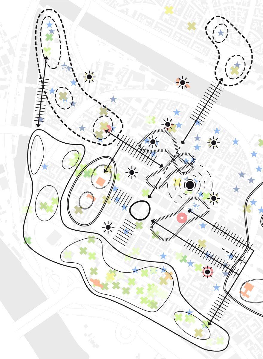 Urban Catalyst Studio De Eki Mannheim Stadtebauplan Architektur Diagramme Urbanes Design