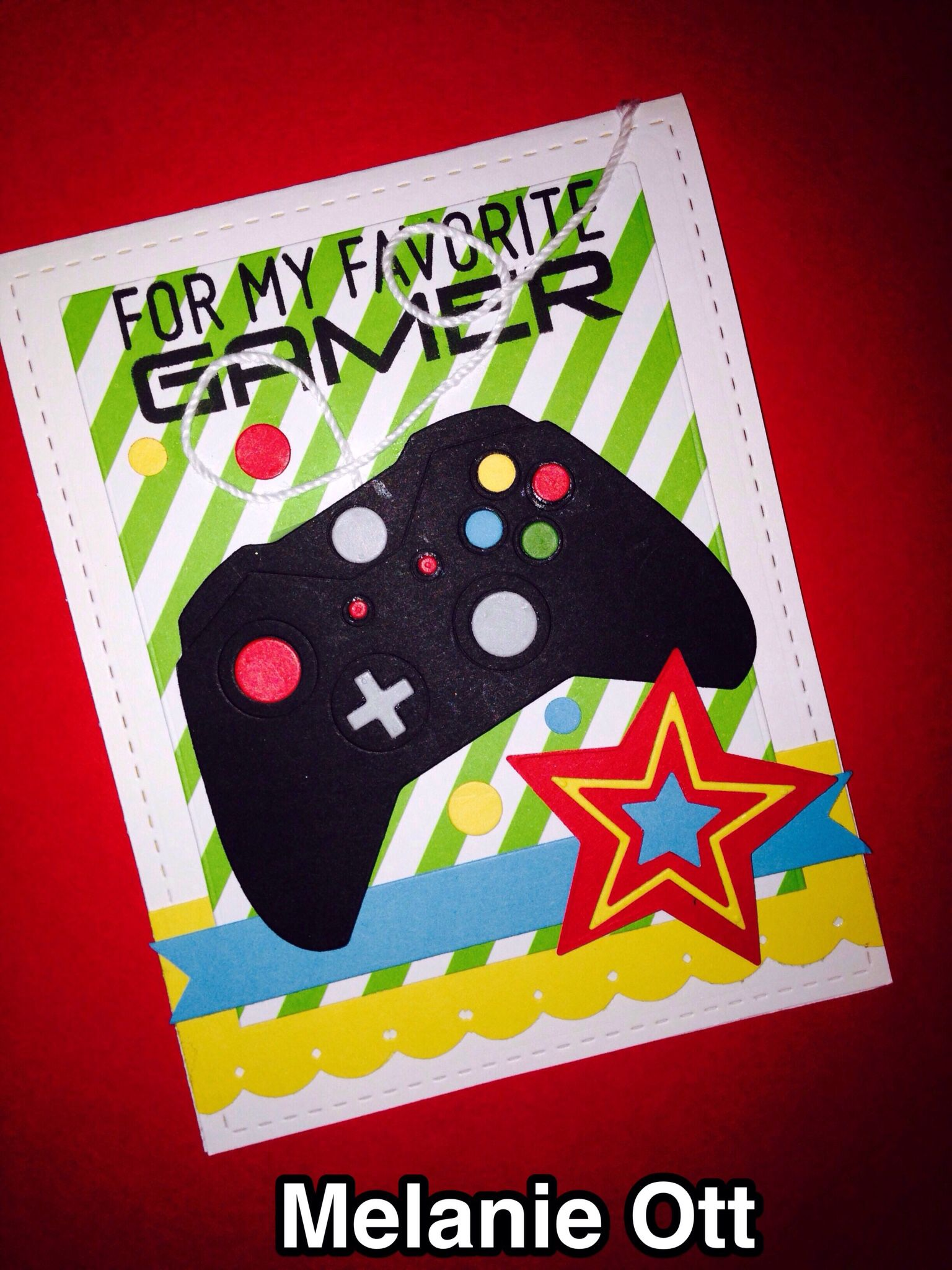 Mft My Favorite Gamer Birthday Card Using Game Controller Die And Level Up Stamp Set Handmade Birthday Cards Cards Handmade Birthday Cards For Boys