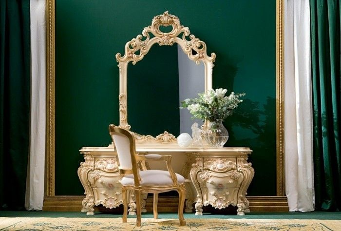Baroque Elemente im modernen Innendesign Regal Pinterest - schlafzimmer barock