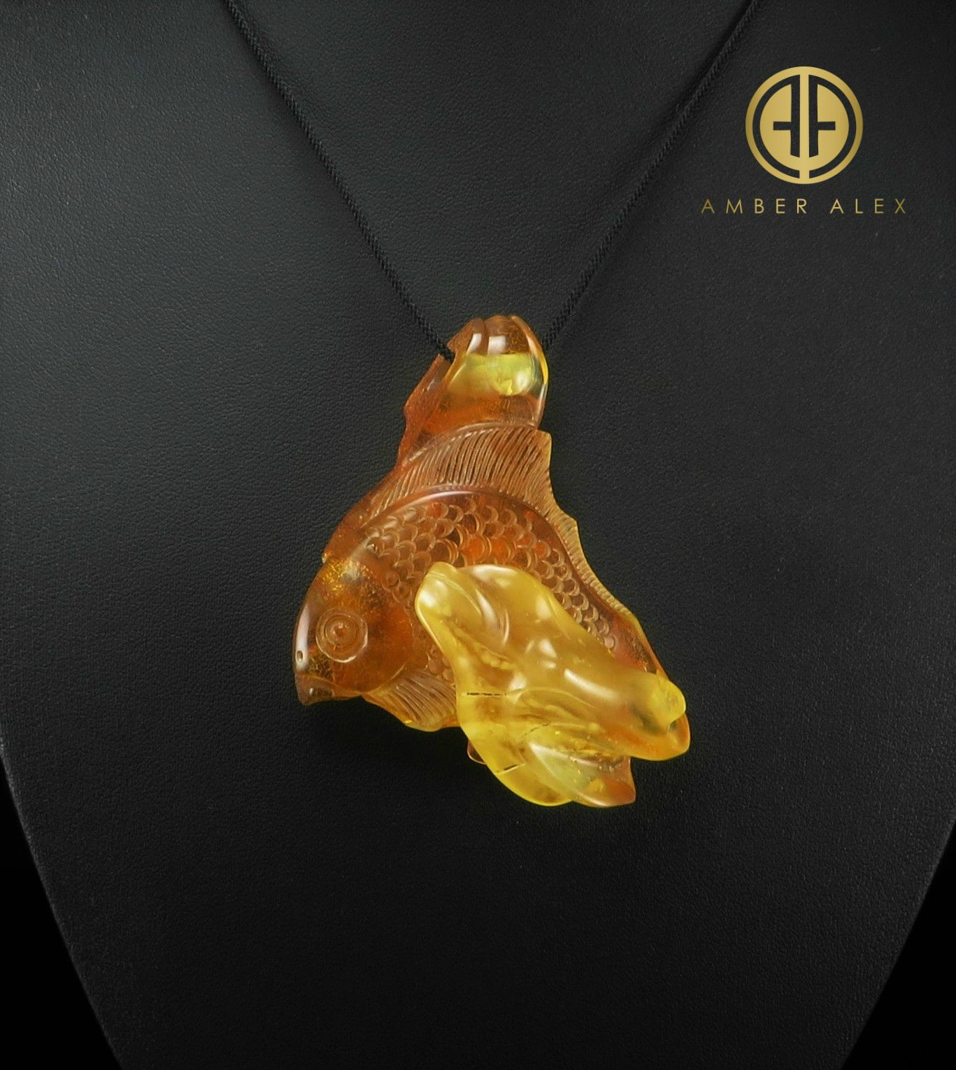 Baltic amber carved pendant gram balticamber amberpendant
