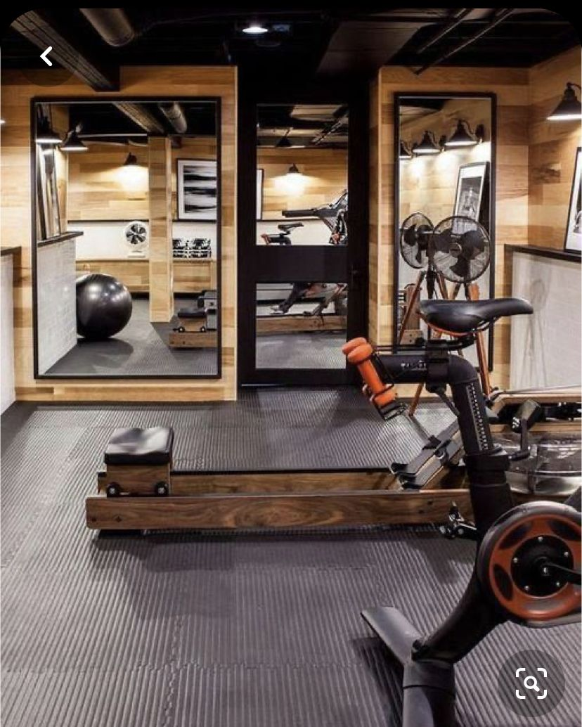 Pin By Mara Crocker On Gym In 2020 Gym Room At Home Home Gym Decor Home Gym Basement