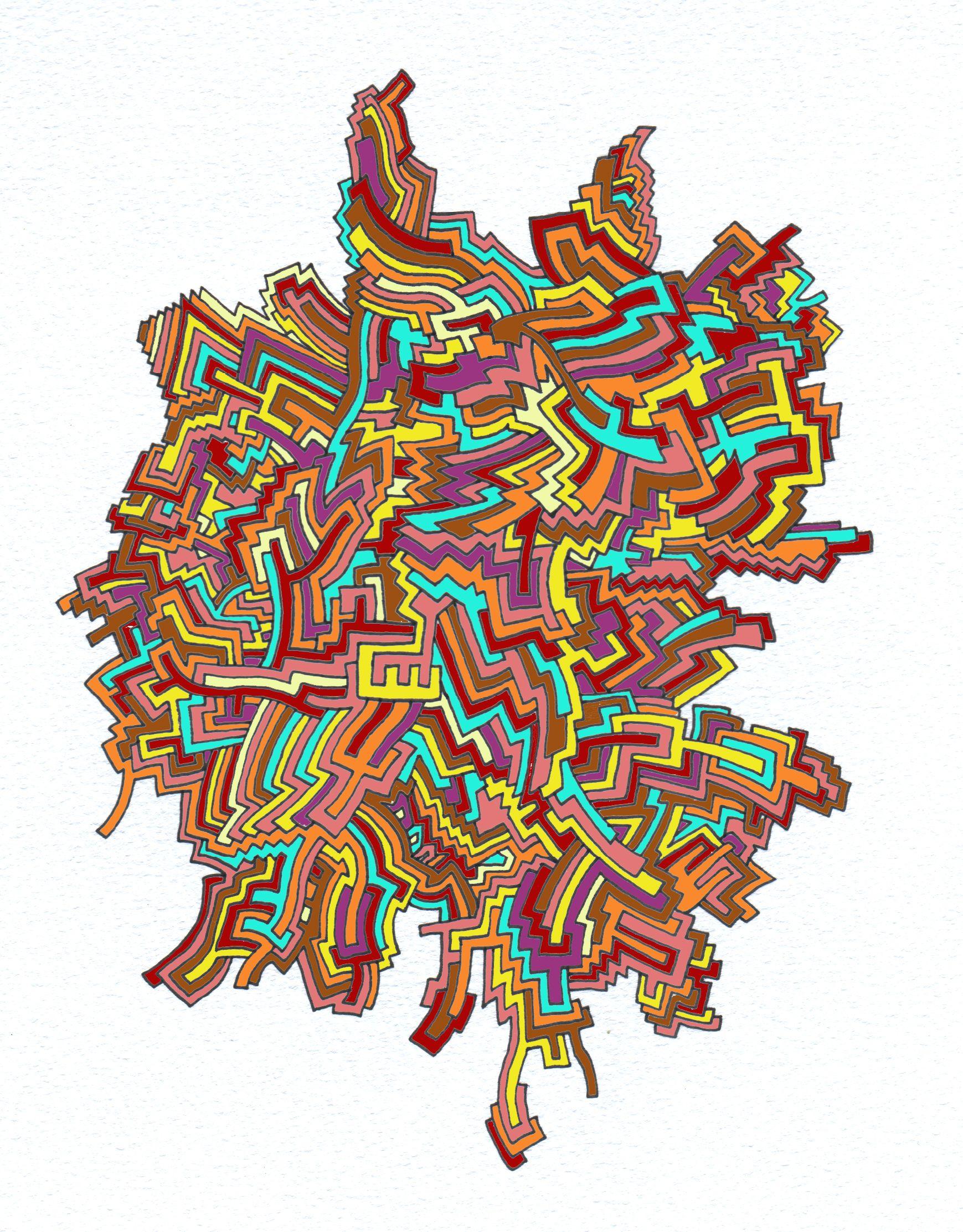 Firenest  Doodling, Abstract Art