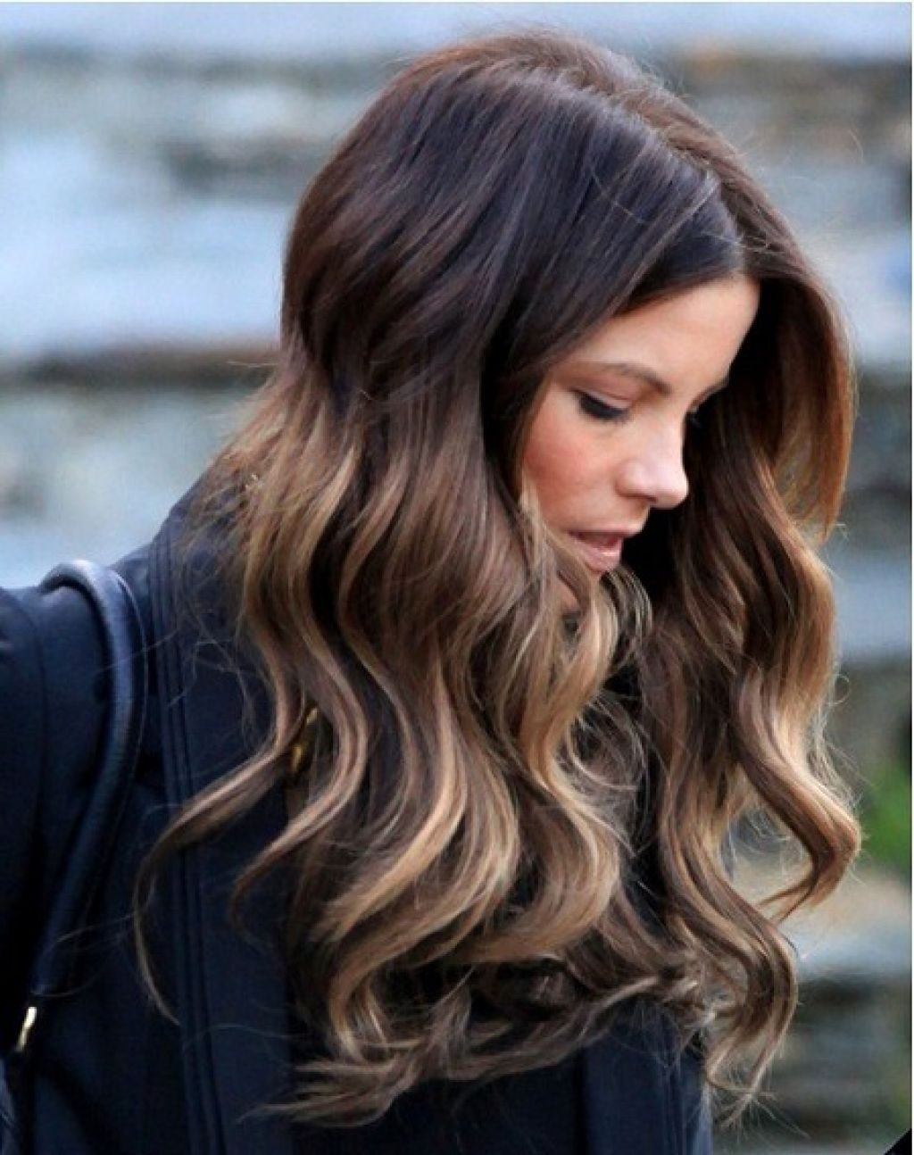 Dark Hair With Highlights Underneath Blood Red Highlights