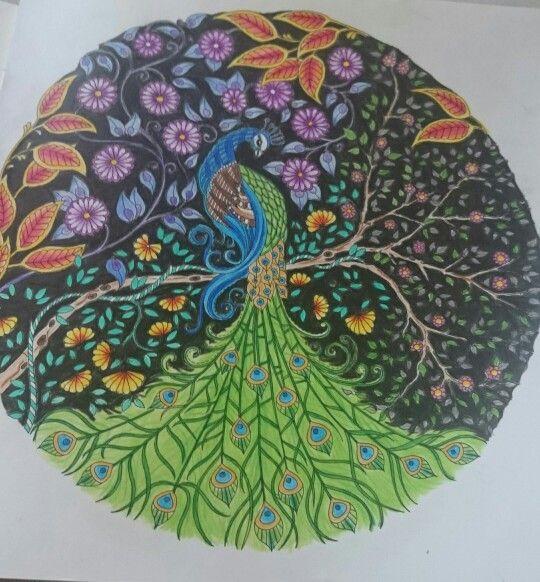 Johanna Basford Secret Garden Gardens Coloring Book Colouring