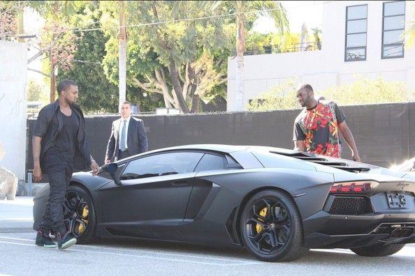 Kanye West Lamborghini Aventodar Celebrity Cars Kanye West Kanye