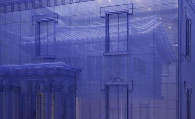 Sheer will Artist DoHo Suh's ghostly fabric sculptures
