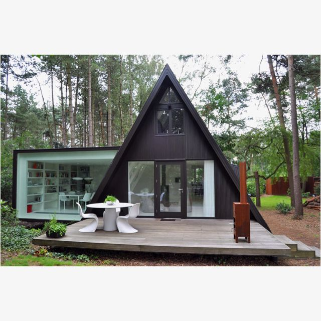 A fun prefab concept for the guest house nothing says for Modular a frame homes