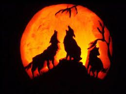 Image result for wolf pumpkin carving patterns halloween
