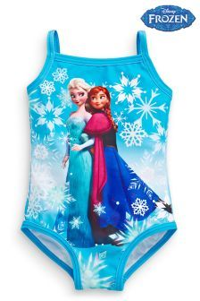 02f4a26a16 Disney™ Frozen Swimsuit (3-12yrs) | NEXT | Swimsuits, Girls swimming ...