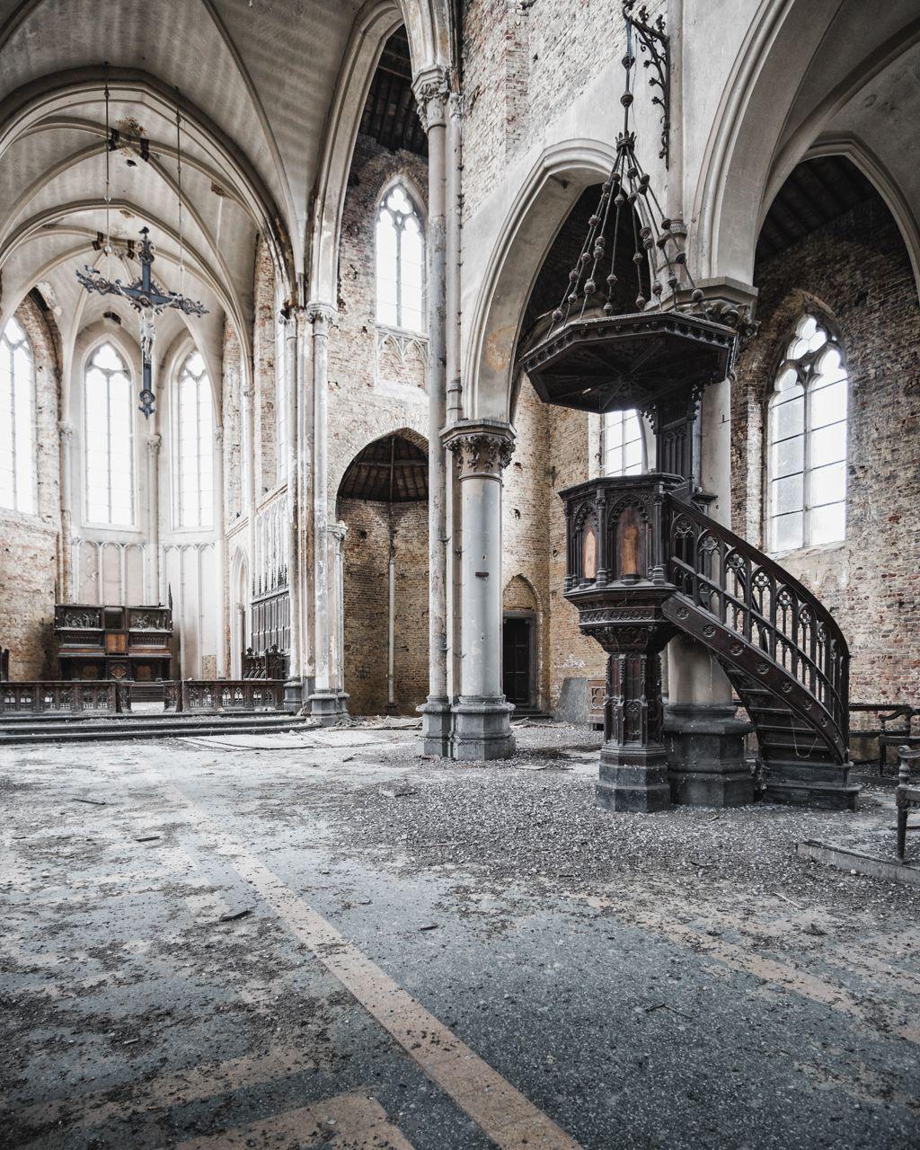 Abandoned Church In Belgium