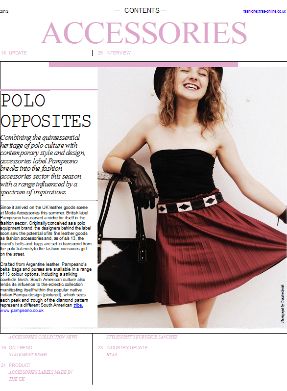 Accessories for this summer #pampeano #leather #polo #belts #collection