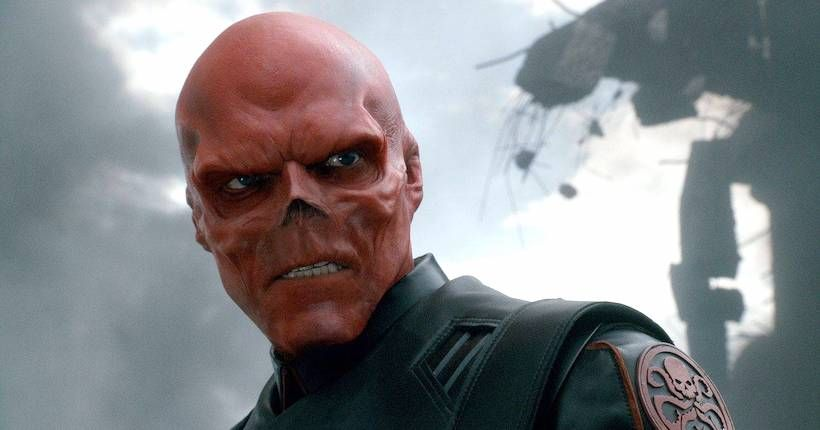 Image result for red skull captain america movie