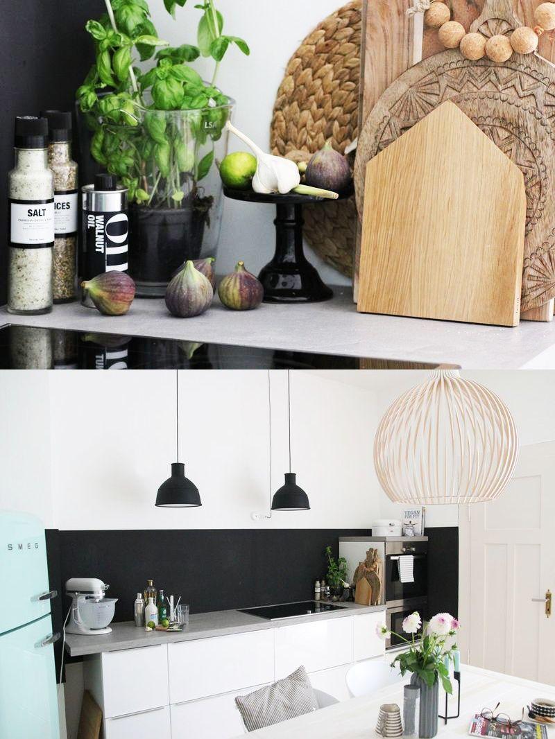 arbeitsplatte aus beton cir beton imitat mit tafellack lackierte mdf platte einfach auf. Black Bedroom Furniture Sets. Home Design Ideas