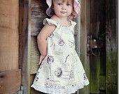 "INSTANT DOWNLOAD Girls Dress Pattern PDF Pattern  Dress Sewing Pattern  sizes 6m through to 10 years ""Avril Dress"""