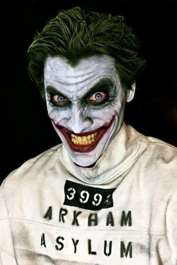 Rayos Batman Maquillajes De Joker Para Hombre Y Mujer