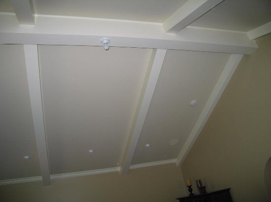 Crown Molding Vaulted Ceiling Beams Cathedral Woodwork Ceilings