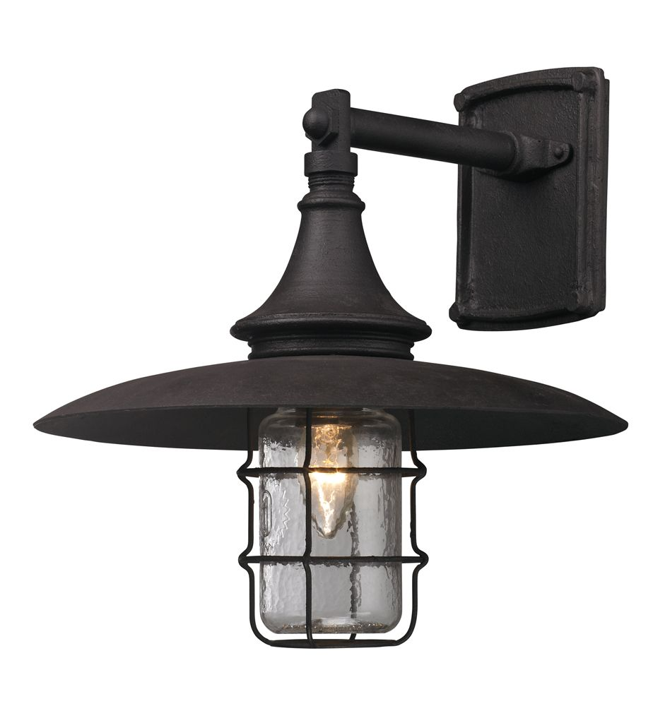 Troy lighting b3221 allegany outdoor medium wall sconce troy lighting b3221 allegany outdoor medium wall sconce constructed by hand forged iron aloadofball Images