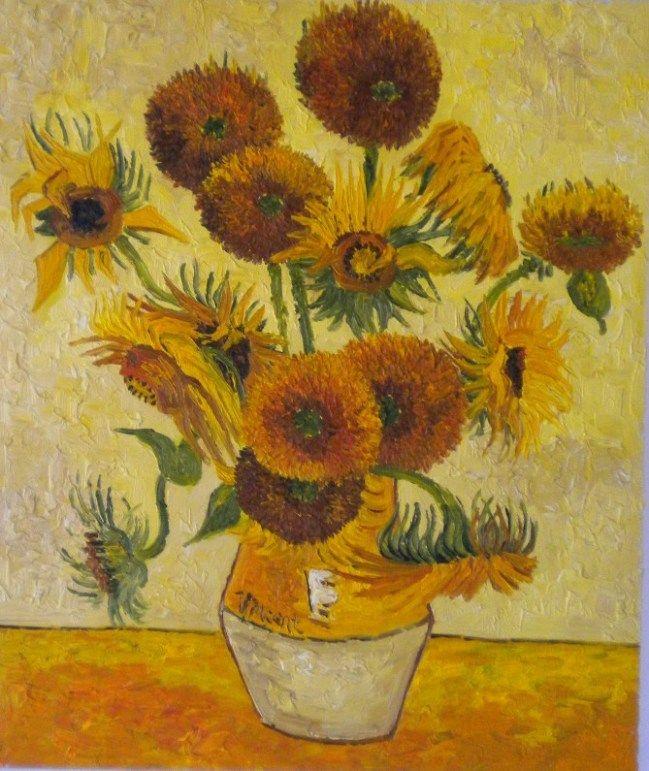 Matrimonio Girasoli Van Gogh : Girasoli di van gogh su pinterest museum arte