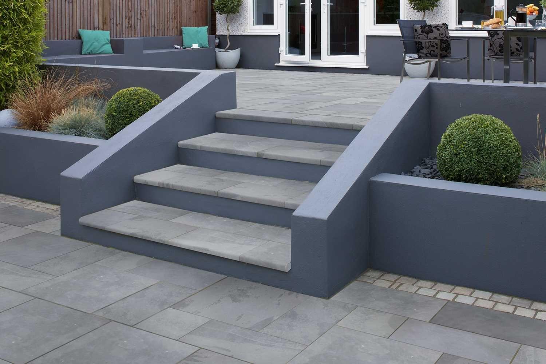 Best Casarta Slate Steps Garden Slabs Slate Garden Garden Steps 400 x 300